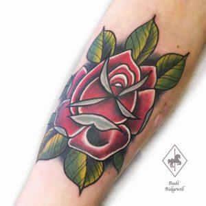 Tattoo Artist Rudi Ridgewell
