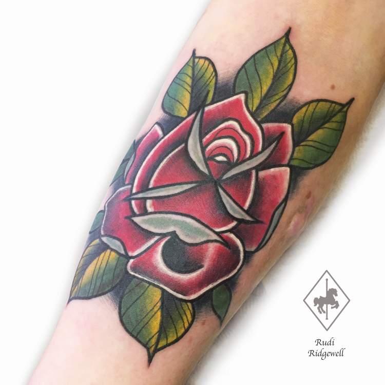 Tattoo Artist Rudi Ridgewell at Carousel Tattoo Studio in Worthing, West Sussex