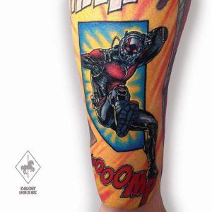 Tattoo Artist Brent Goudie
